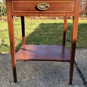 Antique Wooden Side Table for Sale in East Providence, RI