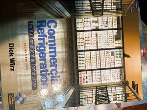 Hvac and chemistry books for Sale in San Bernardino, CA