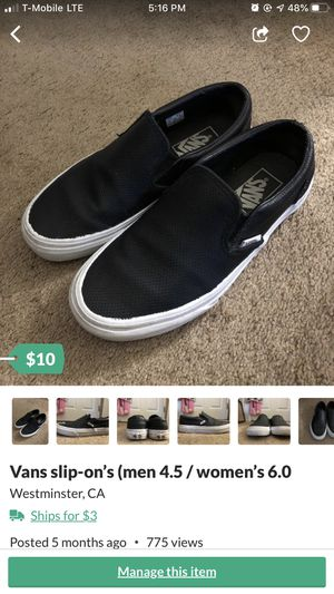 Vans 4.5 used for Sale in Fountain Valley, CA