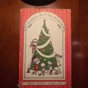 Vintage Joan Walsh Anglund Book Christmas Is A Time Of Giving 1961 for Sale in Molalla, OR