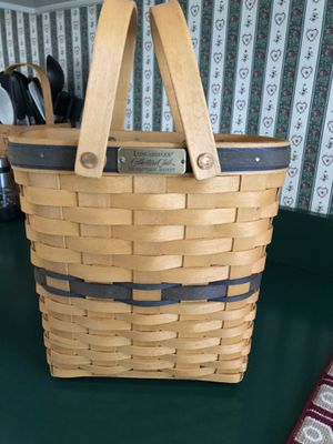 Longaberger collectors club membership basket for Sale in East Berlin, PA