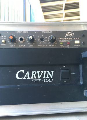 AMP AND PREAMP for Sale in Clovis, CA