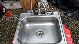 Kitchen Bar Sink and Faucet for Sale in Puyallup, WA