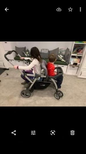 Sit and Stand Double Stroller for Sale in Alexandria, VA