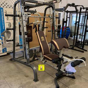 Smith Machine / Home gym price is FIRM for Sale in Fresno, CA