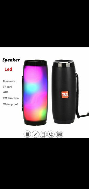 T&G bluetooth speaker LED (Red and blk) for Sale in Tampa, FL