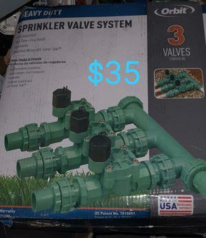 3 valves sprinkler system for Sale in Bakersfield, CA