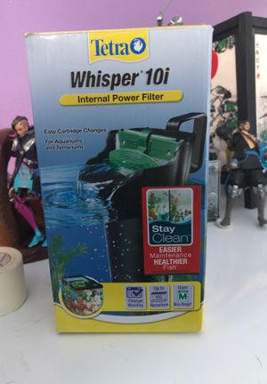 Fish tank filter 10G for Sale in Port St. Lucie, FL