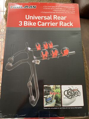 3 bike carrier rack for Sale in Brockton, MA