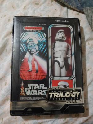 Star Wars stormtrooper collectible large size action figure Star Wars the original trilogy collection great collectible present for Sale in Miami, FL