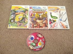 Nintendo Wii games; $10 each; $5 for Super Mario bros for Sale in Franklin, TN