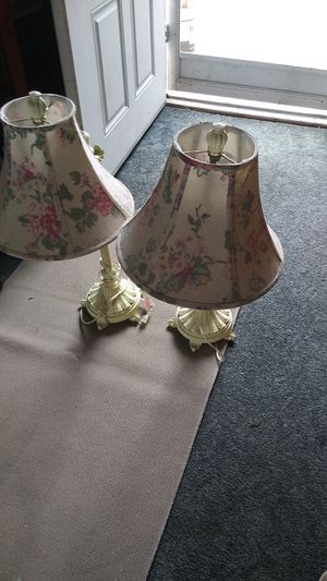 COOL ANTIQUE LOOKNG LAMPS 2 for Sale in Huntington Beach, CA