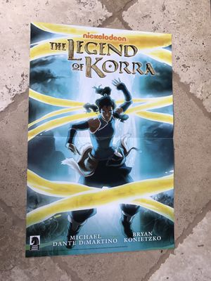 LEGEND OF KORRA 11x17 poster!!! for Sale in San Diego, CA