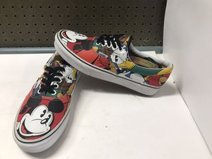 Pre-owned Disney Vans Era Mickey Mouse Friends Size Mens 9.5 Women's 11 for Sale in Spring Valley, CA