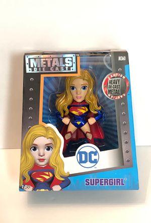"""DC Comics Supergirl 4"""" Die-Cast Metal Figure Jada Toys M360 for Sale in Las Vegas, NV"""