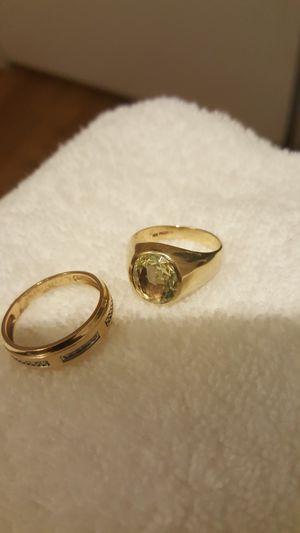Gold rings for Sale in University, VA