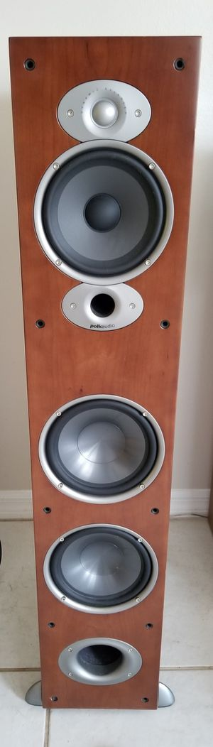 Pair of Polk Audio RTi A7 Stereo Loudspeakers - Amazing Sound! for Sale in Vero Beach, FL