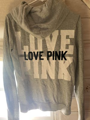Vs pink hoodie perfect condition for Sale in Westville, NJ