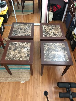 Night stands/ coffee table/ mini desk : Can really work for anything 4 tables for Sale in Industry, CA