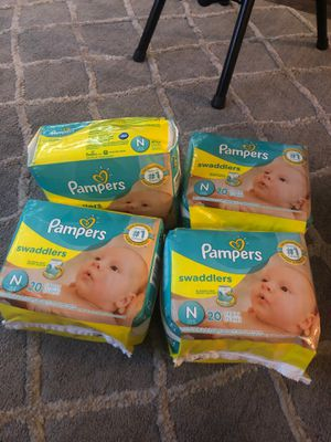 Newborn Pampers for Sale in Bakersfield, CA