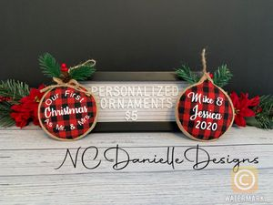 Personalized Ornaments for Sale in Fuquay-Varina, NC