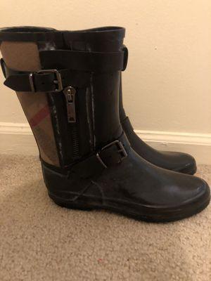 Burberry Rain boots for Sale in Detroit, MI