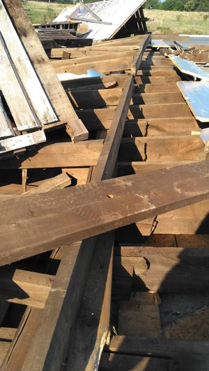 Free Oak wood from barn tare down. for Sale in US