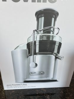 Breville JE98XL The Juice Fountain Plus Juice Extractor for Sale in Palos Park,  IL