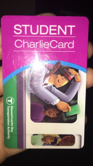 M7 Student Charlie card for Sale in Boston, MA