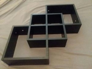 Matching Black Wall Shelves Home Decor for Sale in Fresno, CA