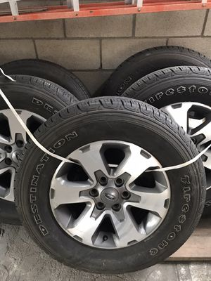 2010 F150 original rims and tires P255/70 R 18 for Sale in Artesia, CA