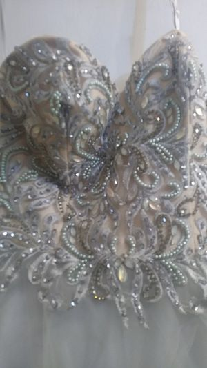 Silver dress! for Sale in Cabot, AR
