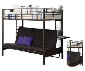 Twin futon bunk bed for Sale in Issaquah, WA