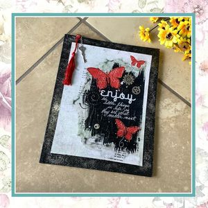 BUTTERFLY JOURNAL DIARY SPELL BOOK NOTES WRITING NOTEBOOK SKETCH DRAWING RECIPES KEY TASSEL MEMORIES ART INSPIRE LOVE SCRAPBOOK FAIRY FANTASY DREAMS for Sale in Las Vegas, NV