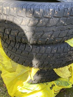 Studded snow tires for Sale in Gresham,  OR