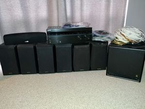 Sony Surround Sound sys + all speakers for Sale in JUPITER INLET, FL