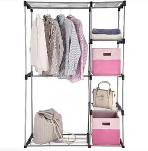 Closet Organizer, 2-Tier, Durable Space Saver Metal Shelf for Sale in Miami Beach, FL