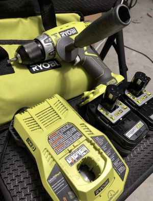 Ryobi Hammer Drill 2 Lithium 3 Ah Battery and Charger for Sale in Orlando, FL