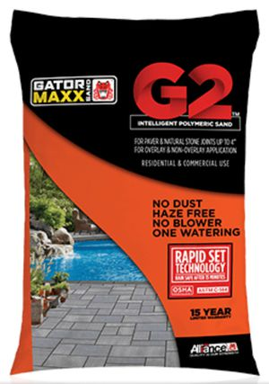 PATIO PAVERS-Alliance Gator Maxx G2 Intelligent Polymeric Sand (Slate Grey) 50lb Bag for Sale in North Chesterfield, VA