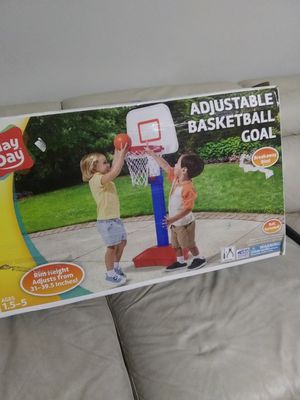 Play day adjustable basketball goal for Sale in Marietta, GA