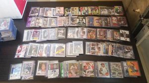 Sports card LOT appx 30,000 Newer baseball and football, hard cased rare serial# cards, Heritage, bowman Chrome, Gypsy queen, etc... for Sale in Lynnwood, WA