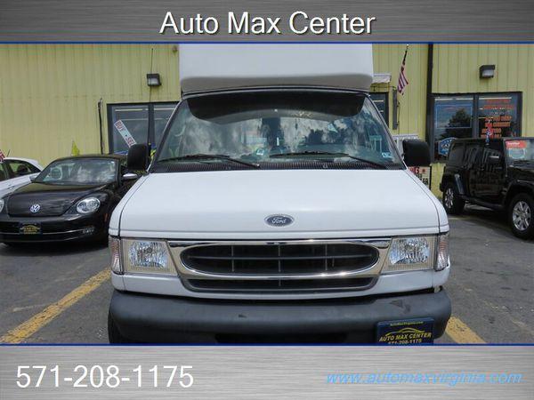 2001 Ford Econoline Cargo Van