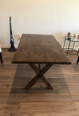 Wood Kitchen Table for Sale in Houston, TX