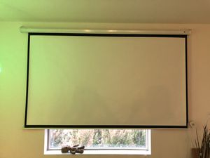 Automated movie projector screen for Sale in San Jose, CA