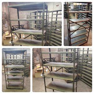 Heavy Duty Metal Shelves for Sale in Ypsilanti, MI