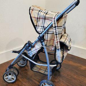 Burberry Inspired Doll Stroller for Sale in Hesperia, CA