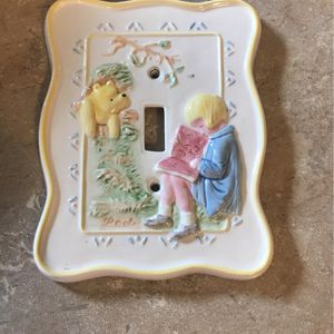 Winnie The Pooh Light Switch Cover for Sale in Salem, OR