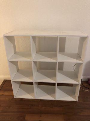 White bookcase for Sale in Placentia, CA