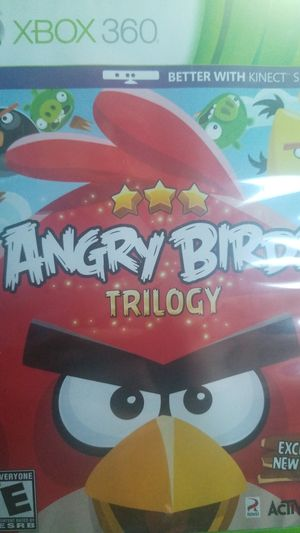 Angry Birds Trilogy for Sale in Houston, TX