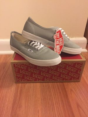 Women's Gray Vans Size 5.5- New Never Used for Sale in Silver Spring, MD